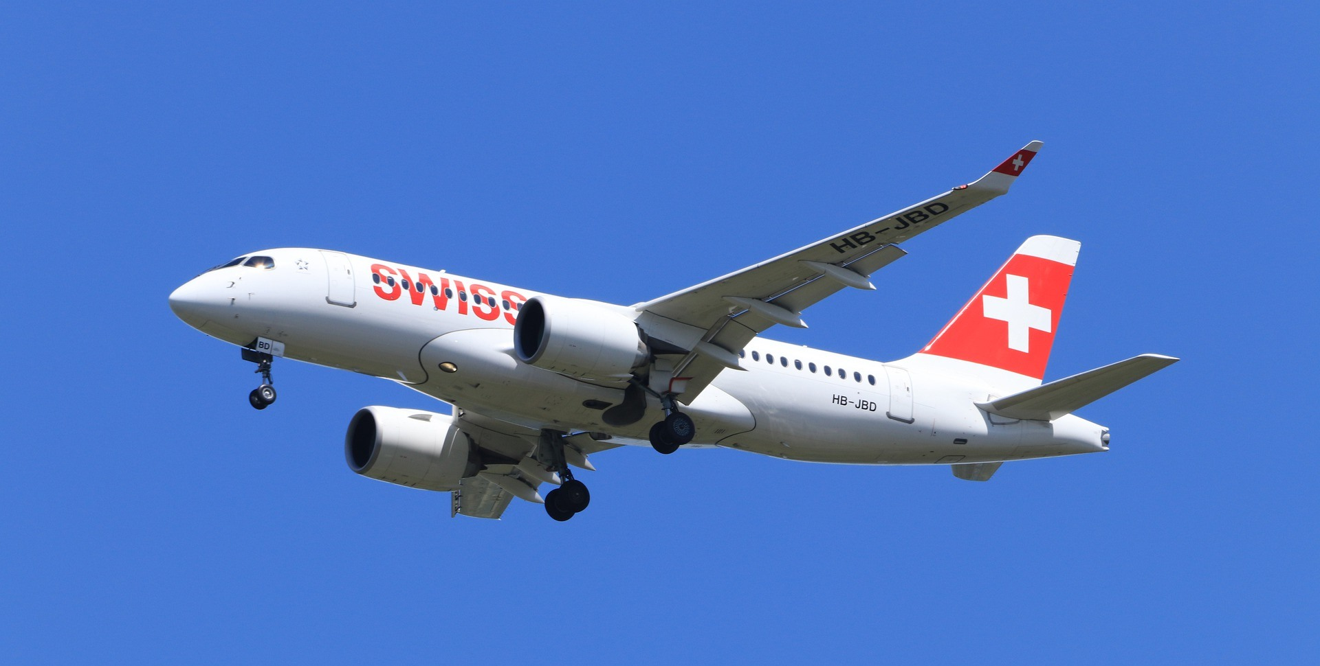 Swiss Air Plane